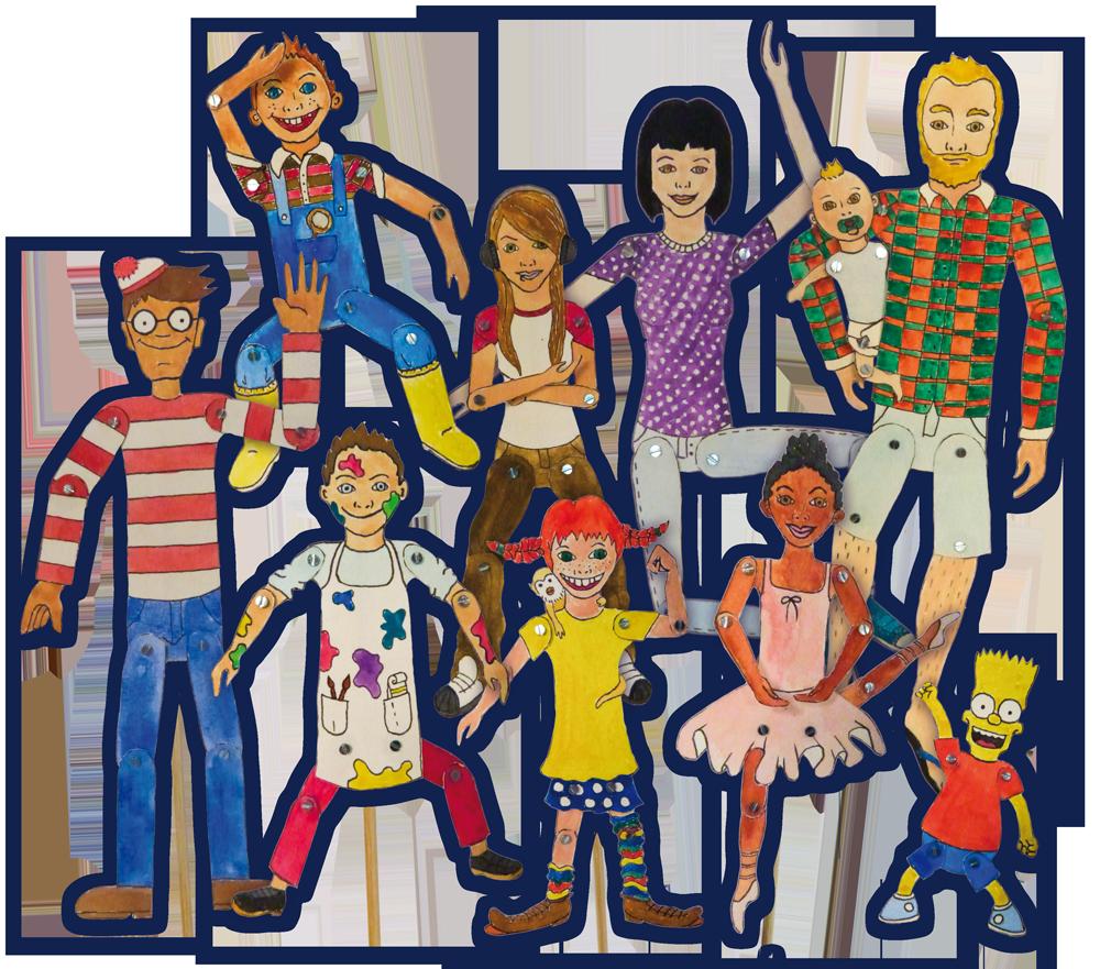 Der Familientag Liestal - Figuren