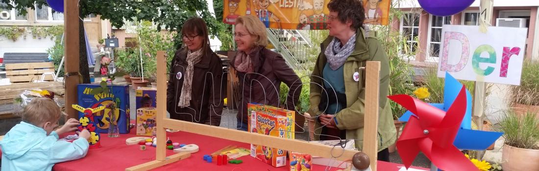 Familientag an der Integra 2017 in Liestal: Spiele der Welt