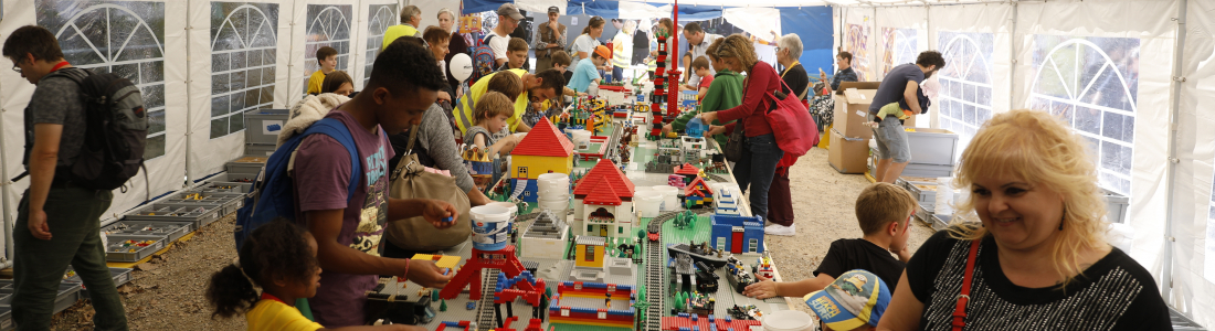 Unsere Legostadt am Stadtfest 2019