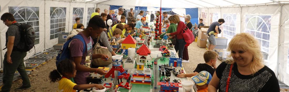 Unsere Legostadt am Stadtfest 2019